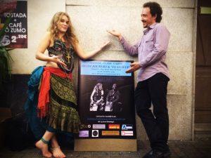 Cajon Duet video - Heidi Joubert & Guillermo Garcia