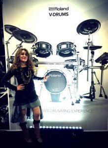 Heidi drum show
