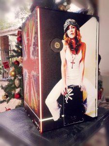 Customised 'Heidi' Cajon for Christmas